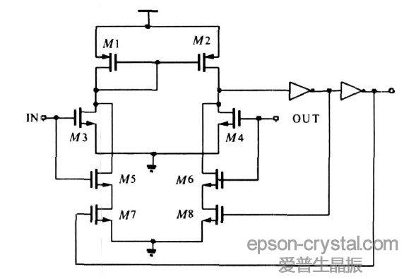 振荡电路用于实时时钟RTC时,经常使用爱普生FC-135/135R贴片音叉晶振或者C2系列圆柱体晶振(32.768kHz的晶体谐振器)连接在OSC3 与OSC4之间而且为了获得稳定的频率必须外加两个带外部电阻的电容以构成振荡电路。当然,还可以使用内嵌振荡电路的SG7050EAN系列32.768kHz晶体振荡器(有源)。问题是为什么一定要使用32.